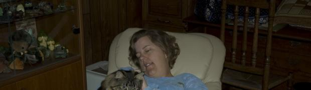 Cats: Trish and Growltiger